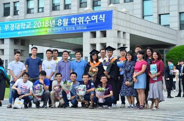 Sinh viên học trao đổi - chương trinh đào tạo du học Hàn Quốc