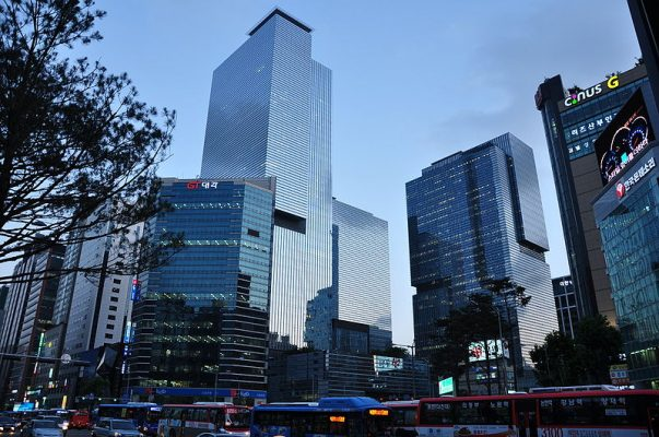 Tru so chinh tap doan Samsung o trung tam thu do Seoul