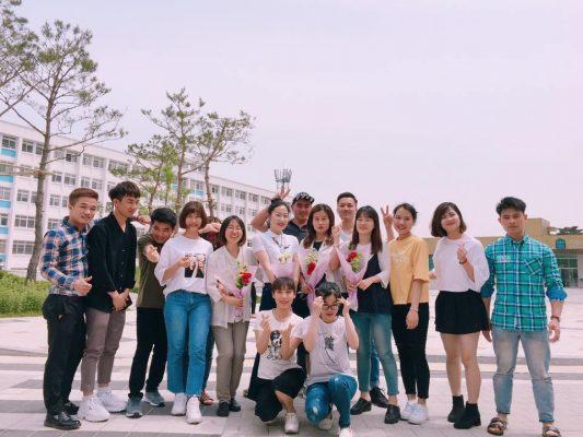 Du học sinh đang học tại Hàn Quốc