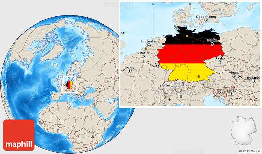 Bản đồ nước Đức