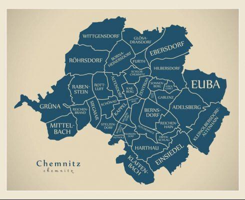 chemnitz map