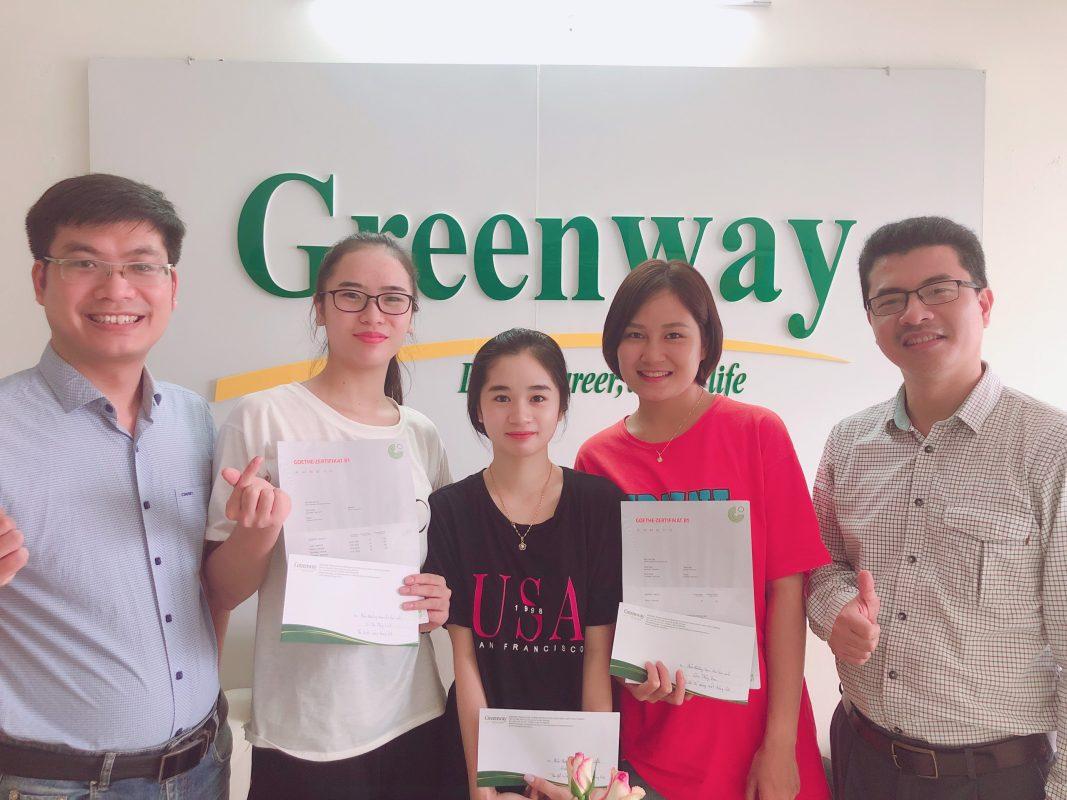 khóa học tiếng Đức tại Greenway
