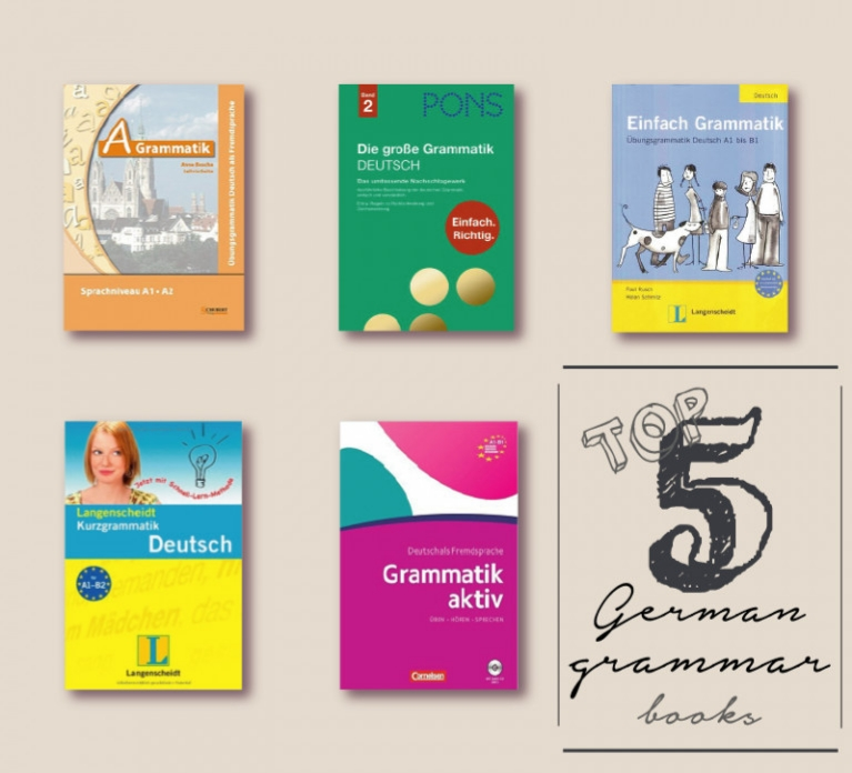 Top 5 sách học tiếng Đức hiệu quả