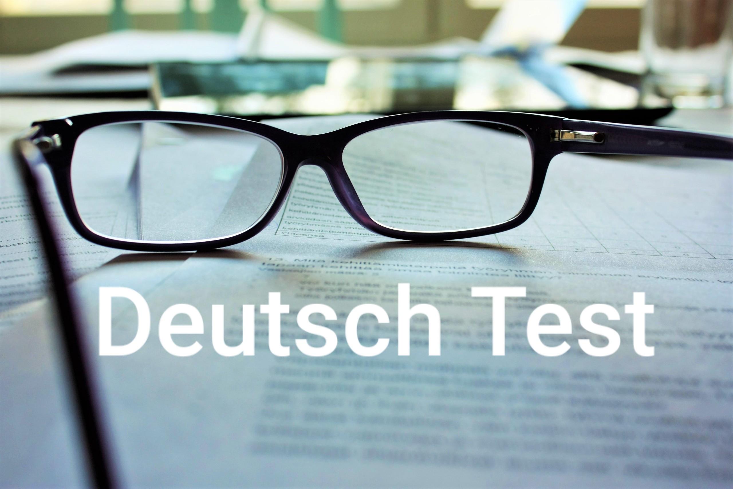 Deutsch Test (9)