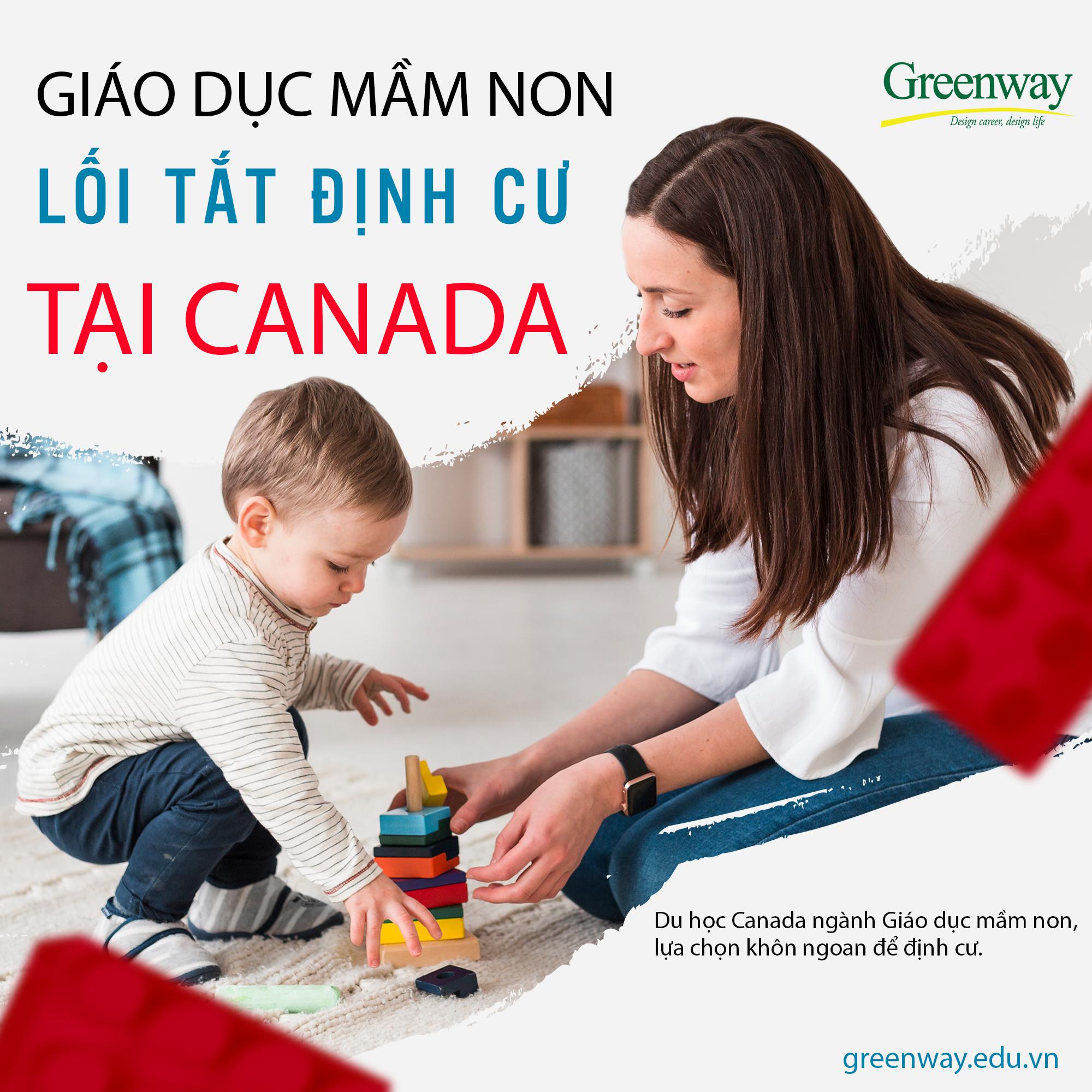 Du học Canada ngành giáo dục mầm non – Lối tắt định cư dài hạn