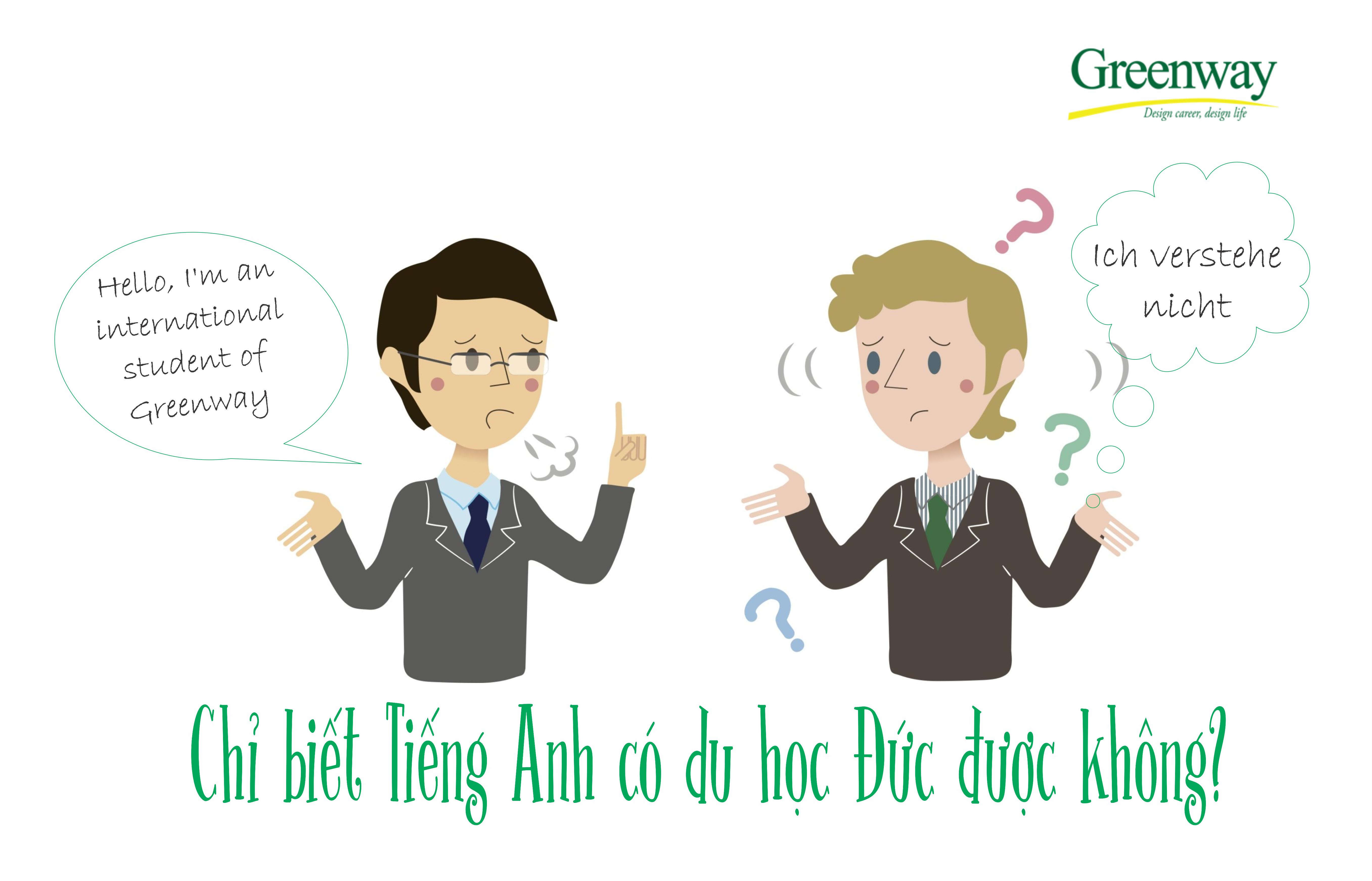 Chỉ biết tiếng anh có đi du học nghề Đức được không ?